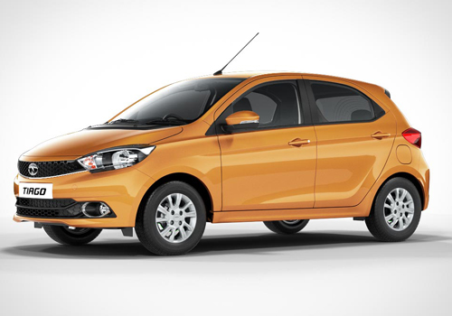 Tata Tiago Front Angle Low Wide Exterior Picture