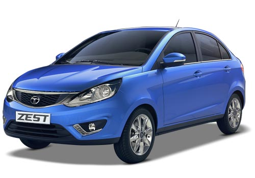 Tata Zest Frong Angle Side View Picture