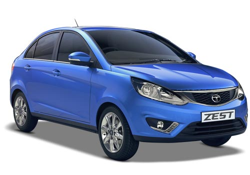 Tata Zest Front Low Angle View Exterior Picture