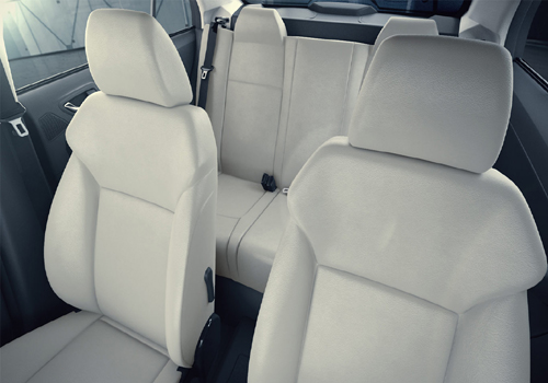 Tata Zest Front Seats Interior Picture