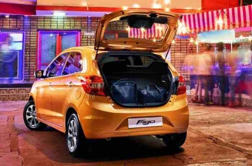 Ford Figo Boot Opener Picture