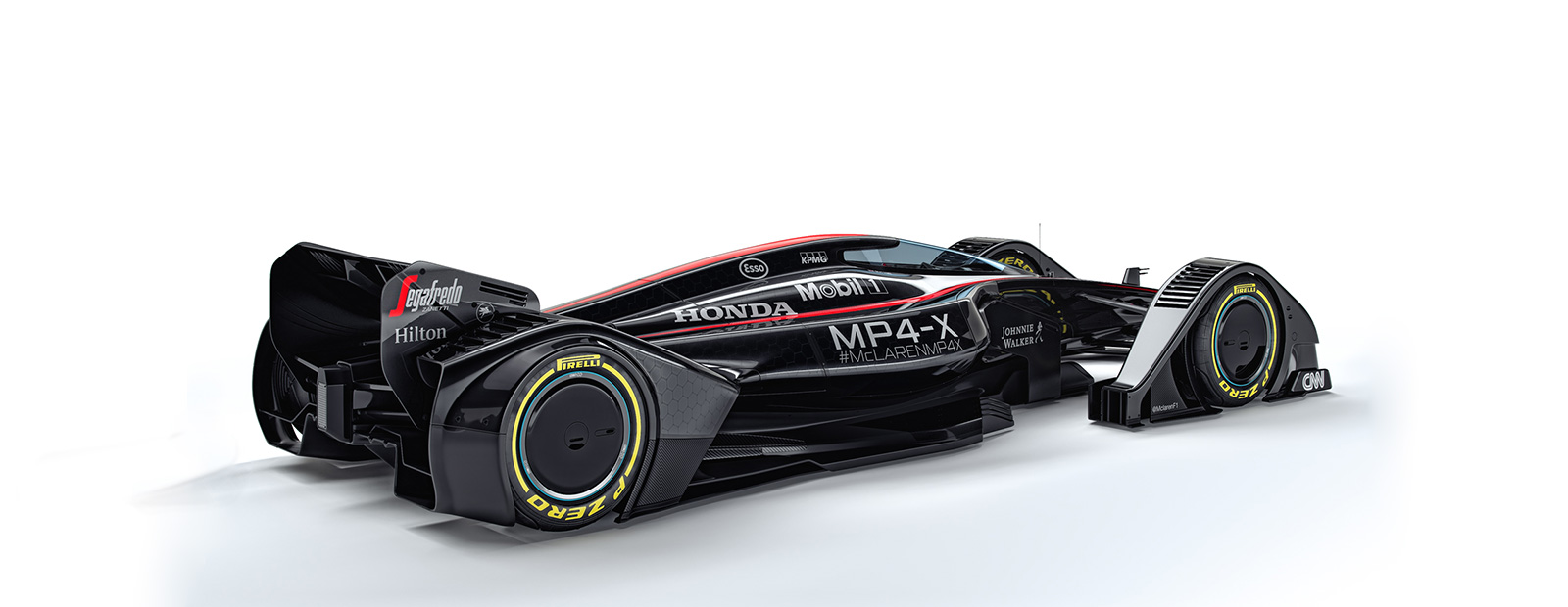 McLaren MP4-X Side View
