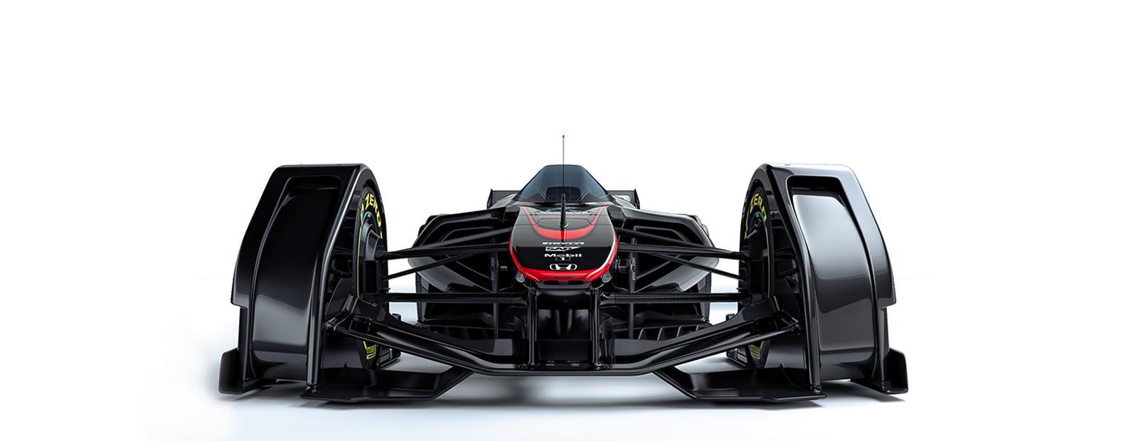 McLaren MP4-X Front view