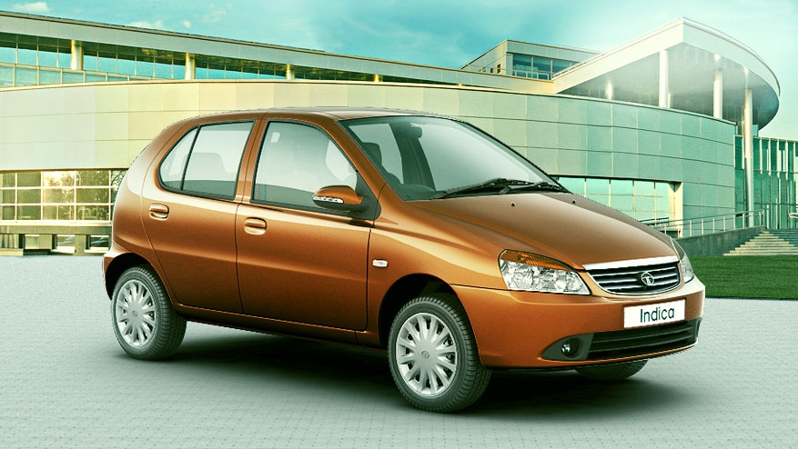 Tata Indica Front Side View Picture