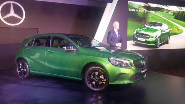 Mercedes Benz A Class Launch Picture