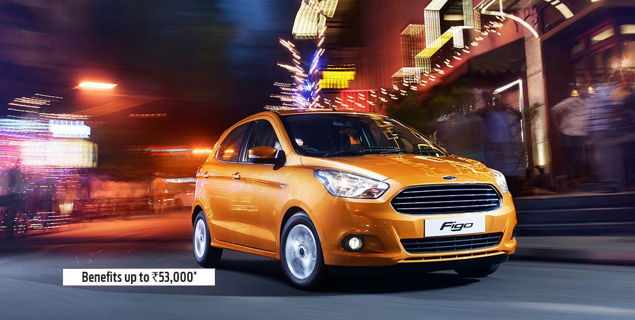 New Ford Figo Front View Picture