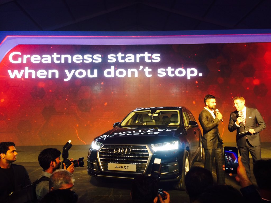 New Audi Q7 Launch