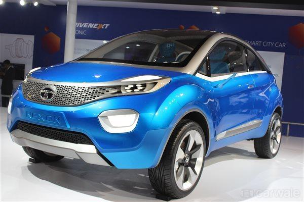 Tata Nexon Front View Picture