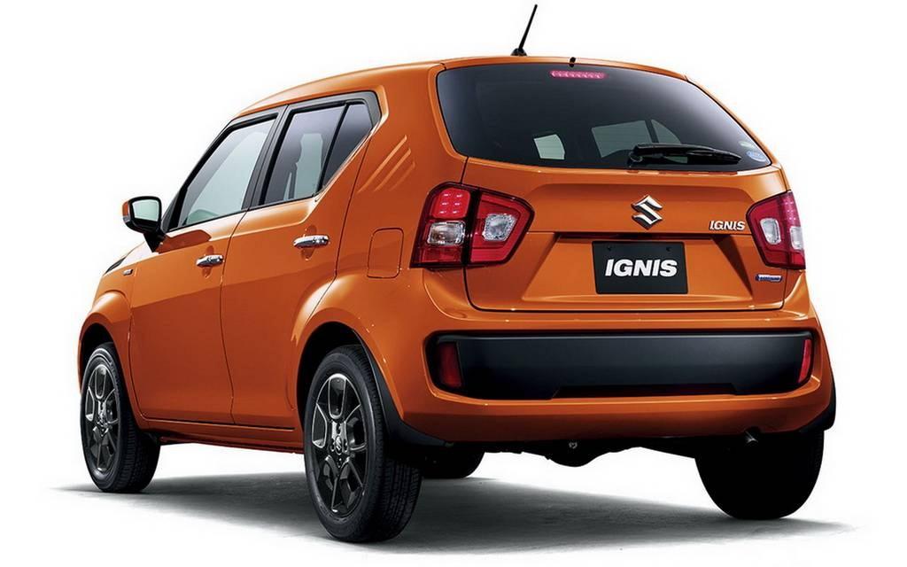 Maruti Suzuki Ignis Rear View Picture
