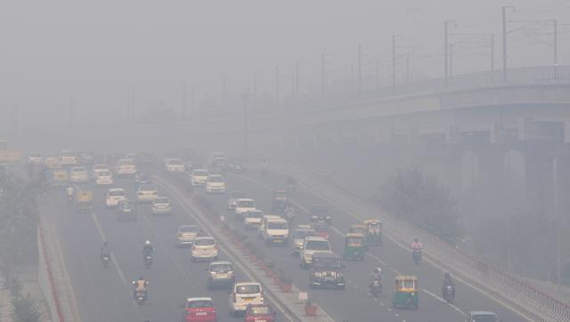 Picture of Pollution in Delhi