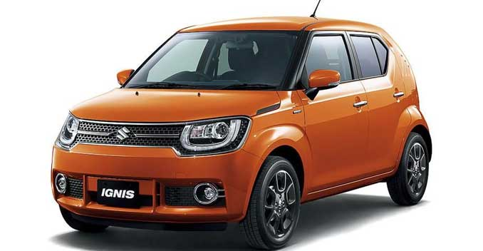 Maruti Suzuki Ignis Front Side View Picture