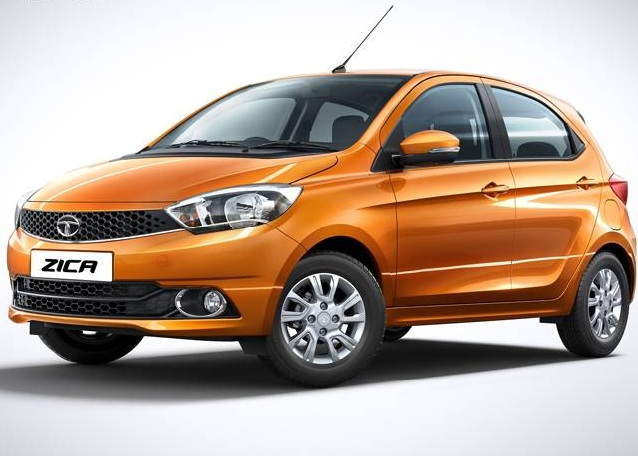 Tata Zica Front Side View Picture