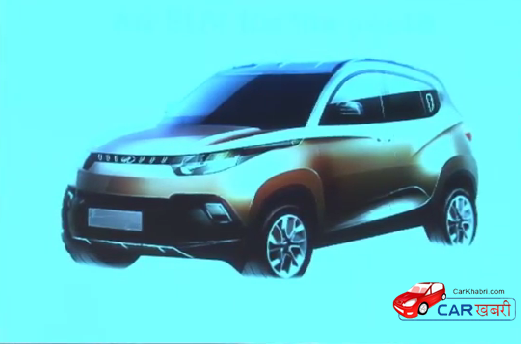 Mahindra KUV100 Unveiling Picture