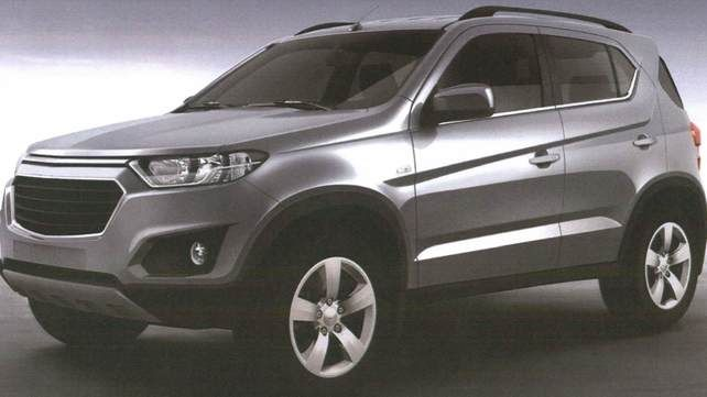 Chevrolet Niva Front View Picture