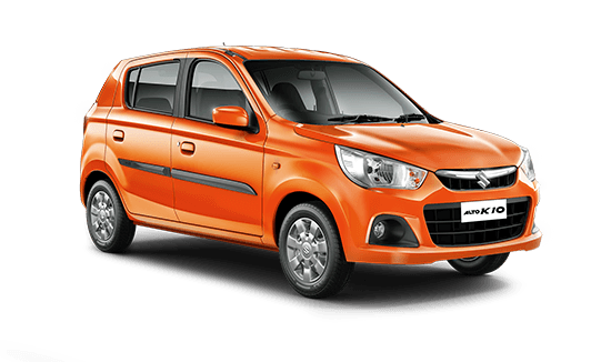 Maruti Suzuki Alto K10 Front View Side Picture