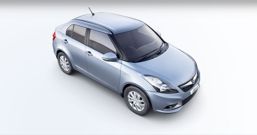 Maruti Suzuki Swift Dzire Front Side View Picture