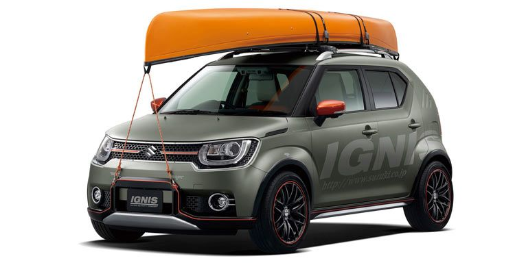Suzuki Ignis Water Concept Activity Picture