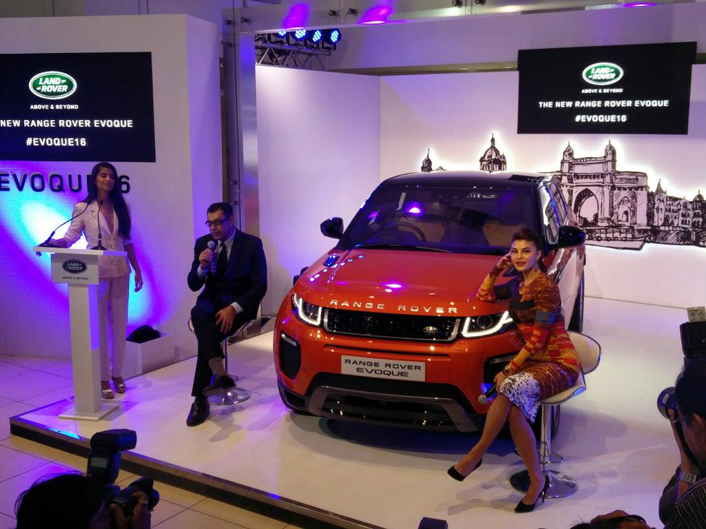 Range Rover Evoque Launch Picture