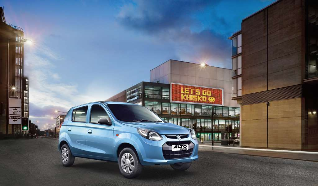 Maruti Suzuki Alto 800 Front Side View Picture