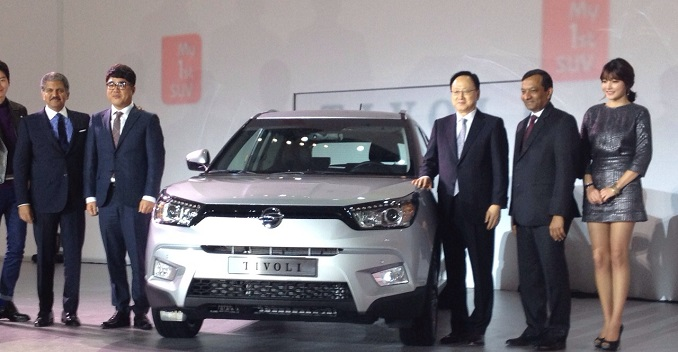 SsangYong Tivoli Launch Picture in Korea