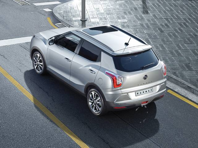 SsangYong Tivoli Rear Picture