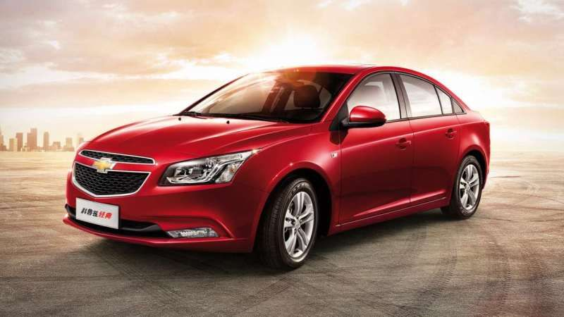 Front View Picture of Facelift Chevrolet Cruze
