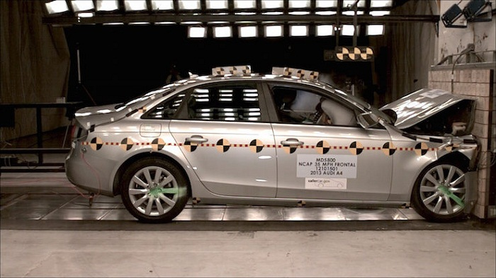 Audi Crash Test