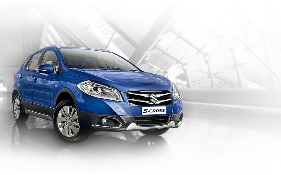 Maruti Suzuki S-Cross Front Side View Picture