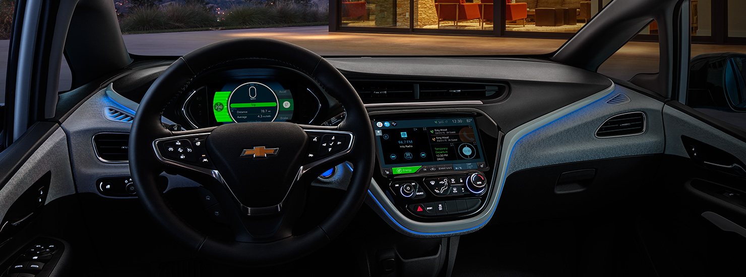 Chevrolet Bolt EV Screen Infotainment System