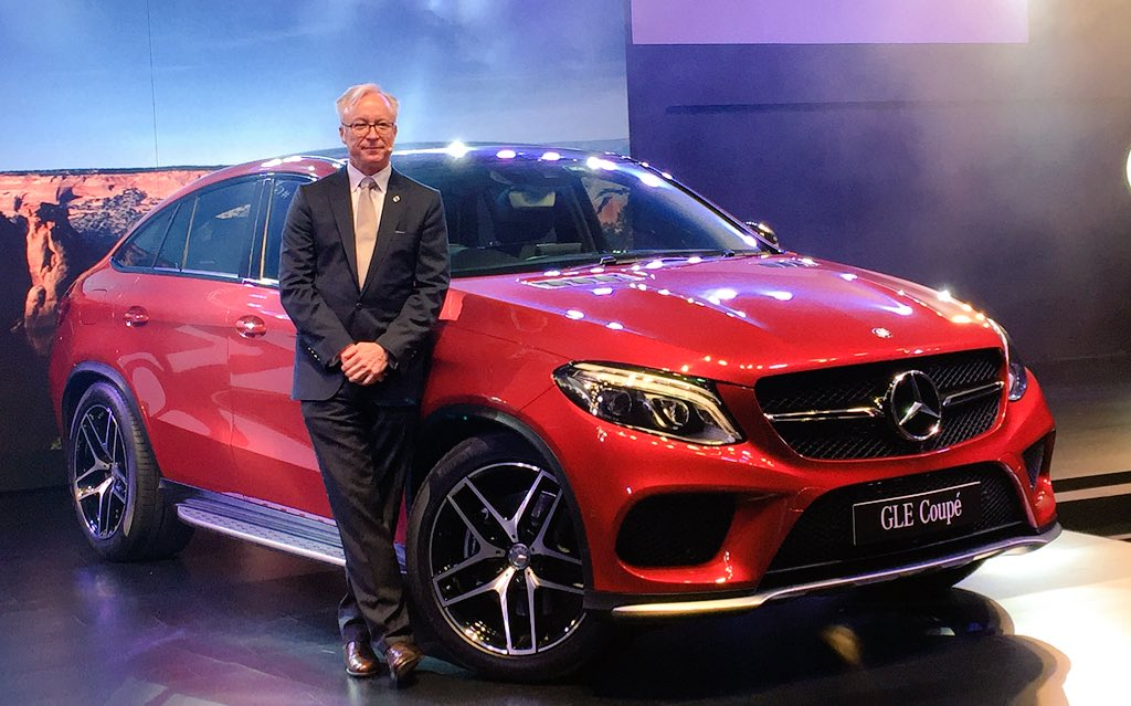 Mercedes Benz GLE 450 AMG Coupe Launch