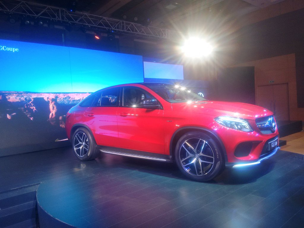 Mercedes Benz GLE 450 AMG Coupe Side View Picture