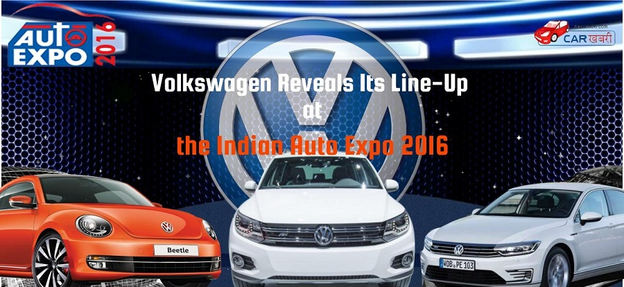Volkswagen cars to be unveiled at Auto Expo 2016