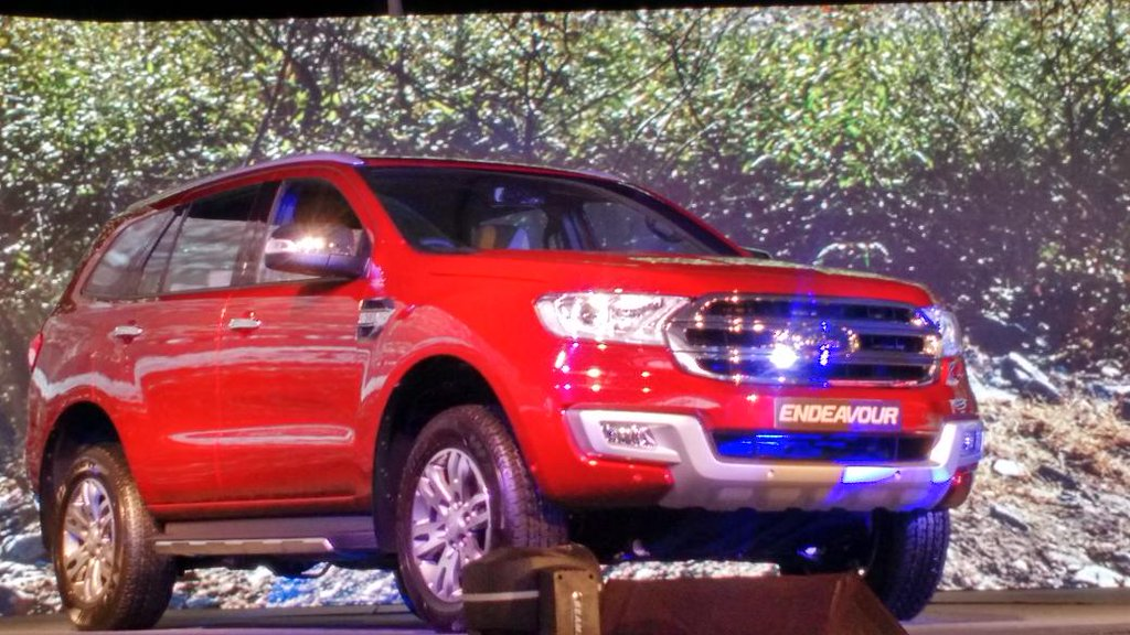 All New Ford Endeavour