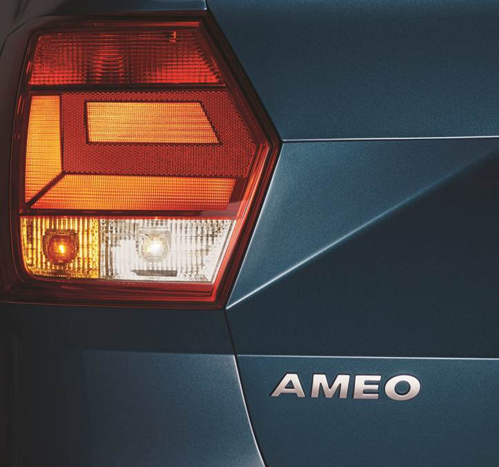 Volkswagen Ameo Tail Light Picture