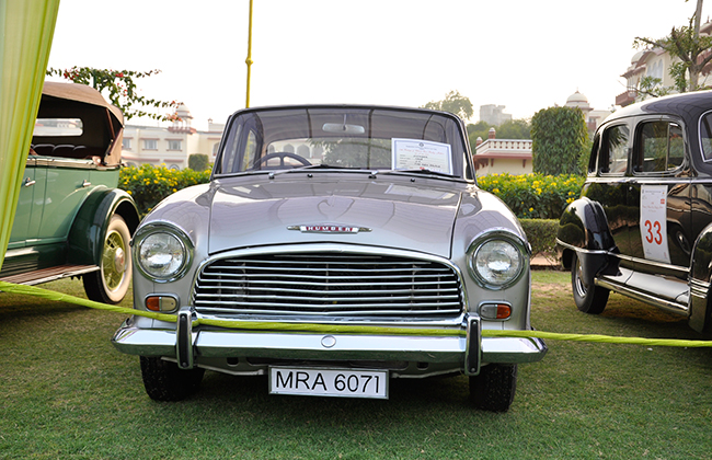 Front View of Classic Car