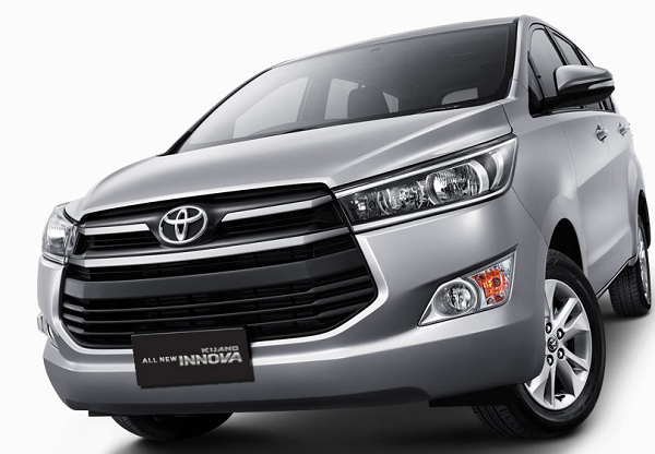 Front View Toyota Innova 2016