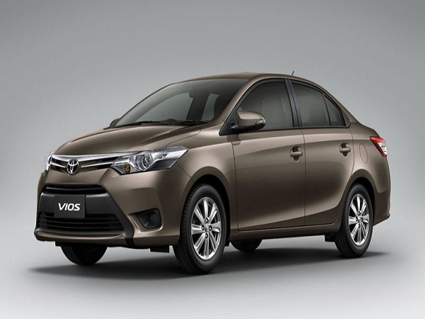 Toyota Vios Front Low View