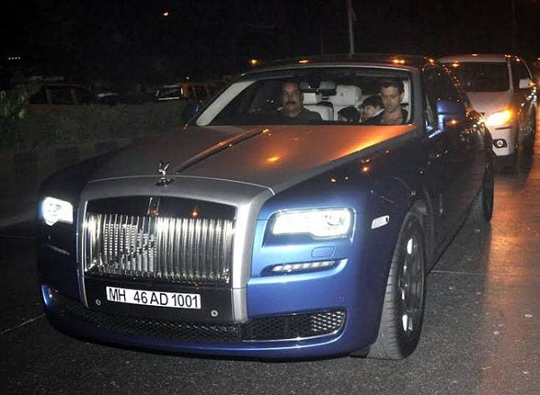 Hrithik Rolls-Royce Ghost Series II