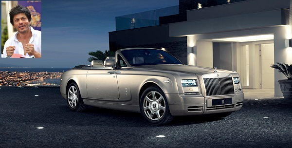 SRK and Rolls-Royce Drophead Coupe