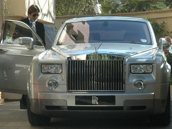 Amitabh Rolls-Royce Phantom