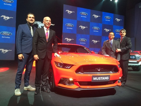 Ford Mustang Unveil in Indian Car Market