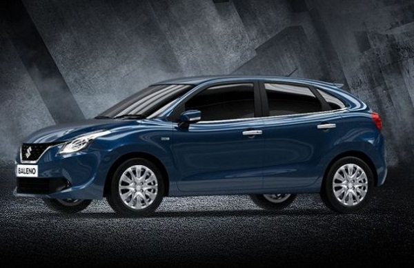 Maruti Suzuki Baleno Side View