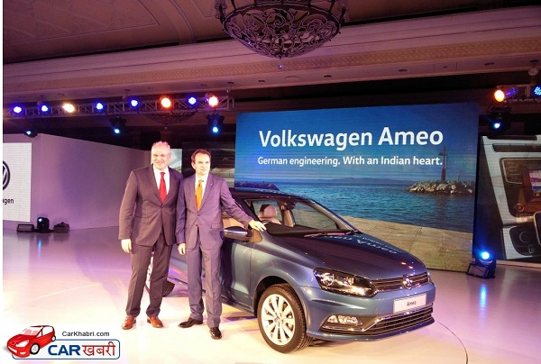 Volkswagen Ameo Launch