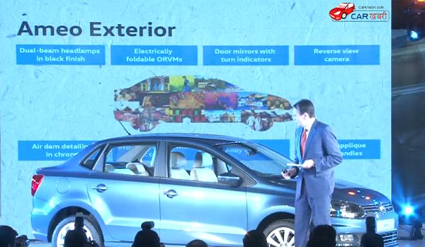 Volkswagen Ameo Exterior Features