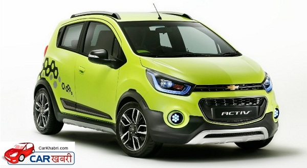 Chevrolet Beat Active Front Side View