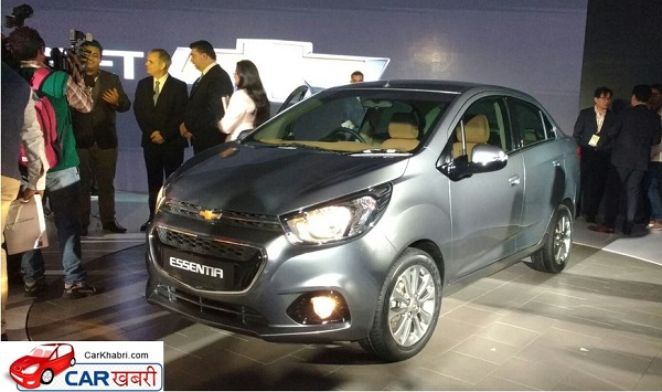Chevrolet Essentia Front Side View