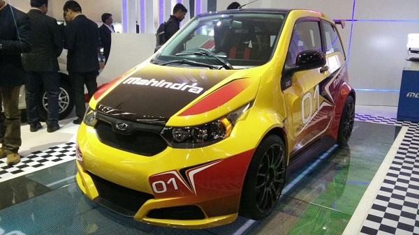 Mahindra Reva e2o Sport Unveil
