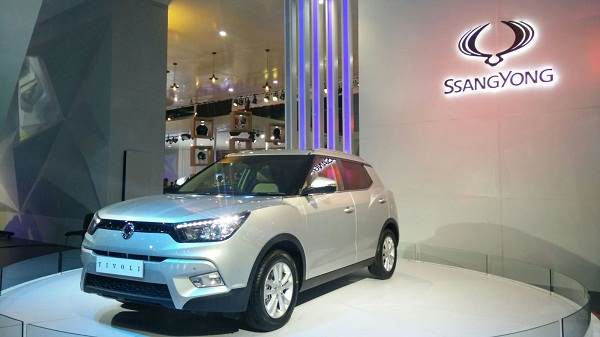 Ssangyong Tivoli Front View