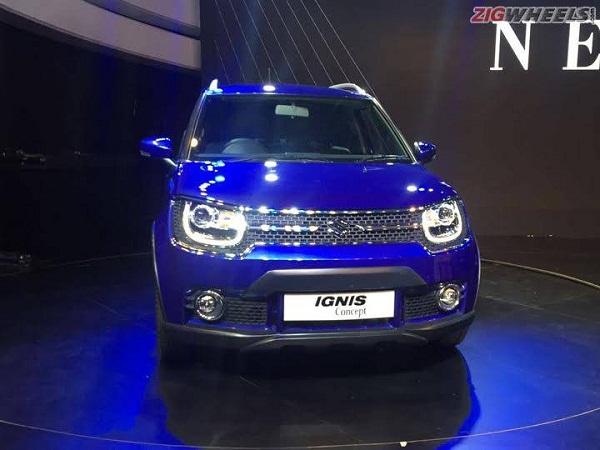 Maruti Suzuki Ignis Front View