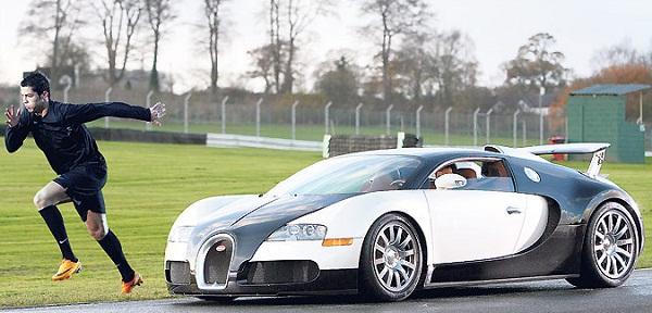 Ronaldo - Bugatti Veyron